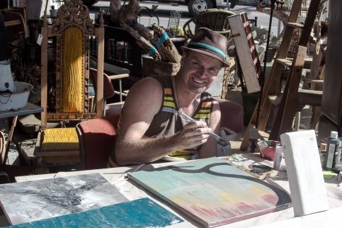 Gary Ambs, traveling artist