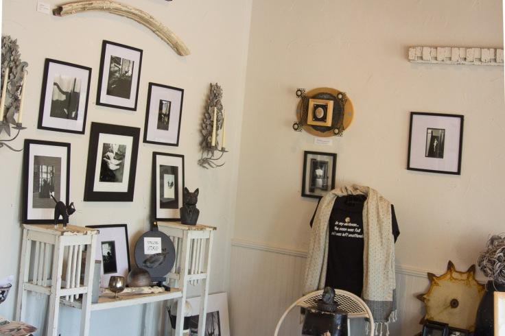 Catherine Mossaro's Studio on Main Street in Johnson City, TX
