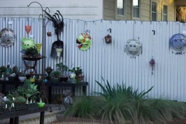Texcetera Art Gallery, outside patio